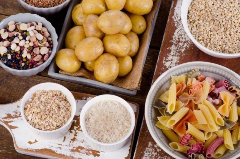 carbs pasta potatoes and grains